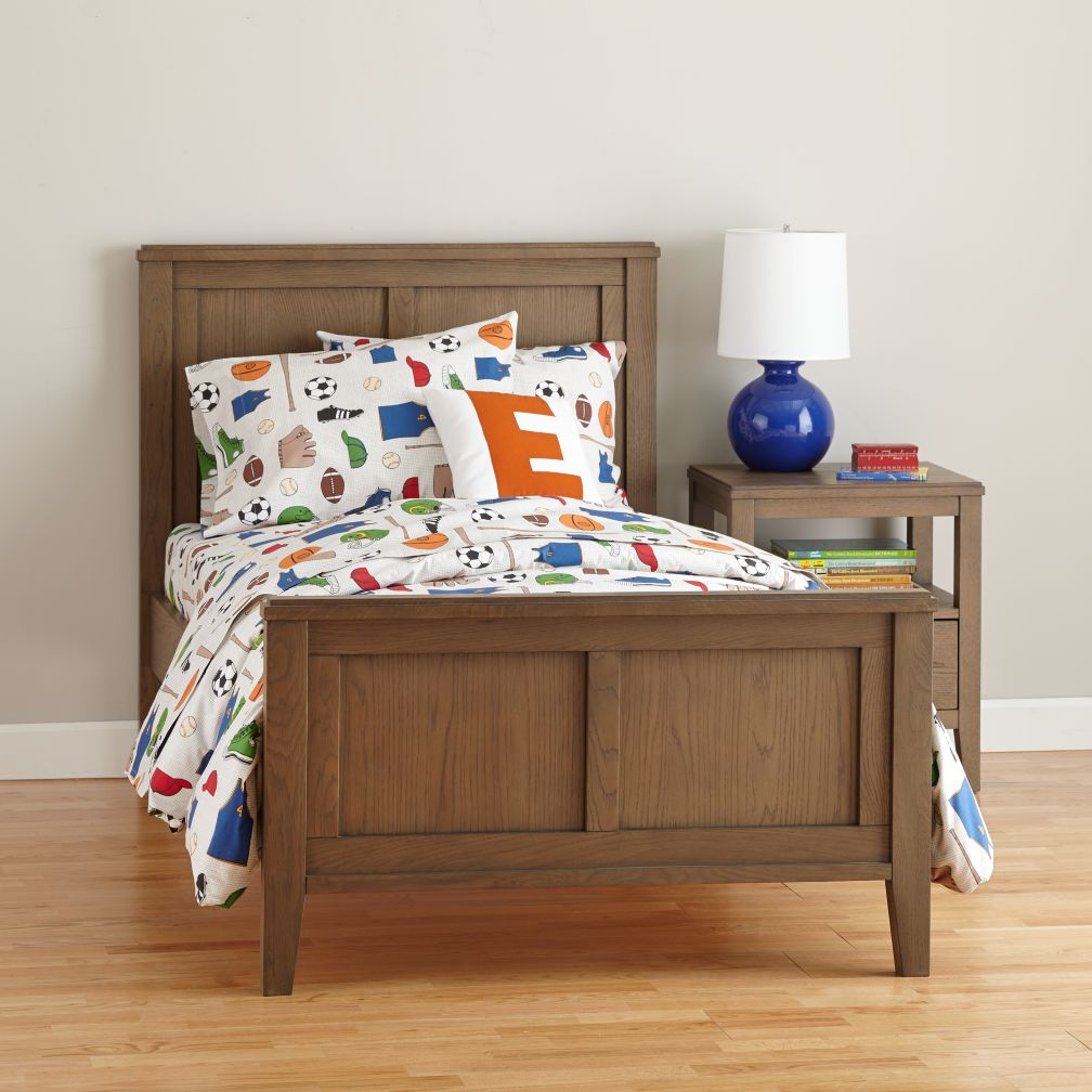 Bayside Panel Bed (Cocoa)