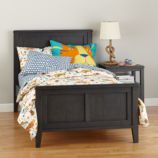 Bayside Panel Bed (Denim)