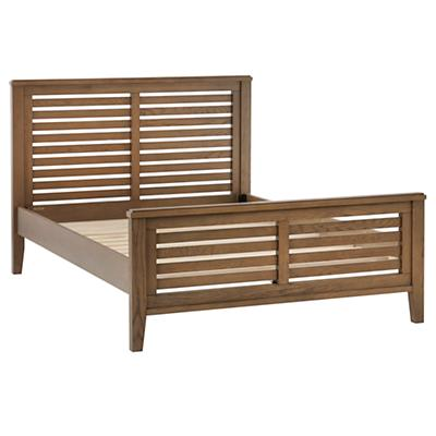 Full Bayside Slatted Bed (Cocoa)