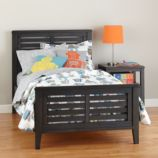 Bayside Slatted Bed (Denim)