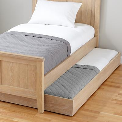Bayside Trundle Bed (Whitewash)