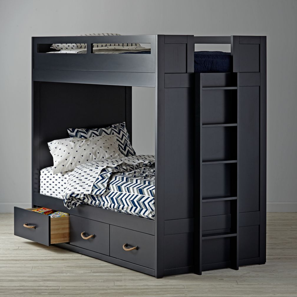 kids bunk beds loft beds the land of nod. Black Bedroom Furniture Sets. Home Design Ideas