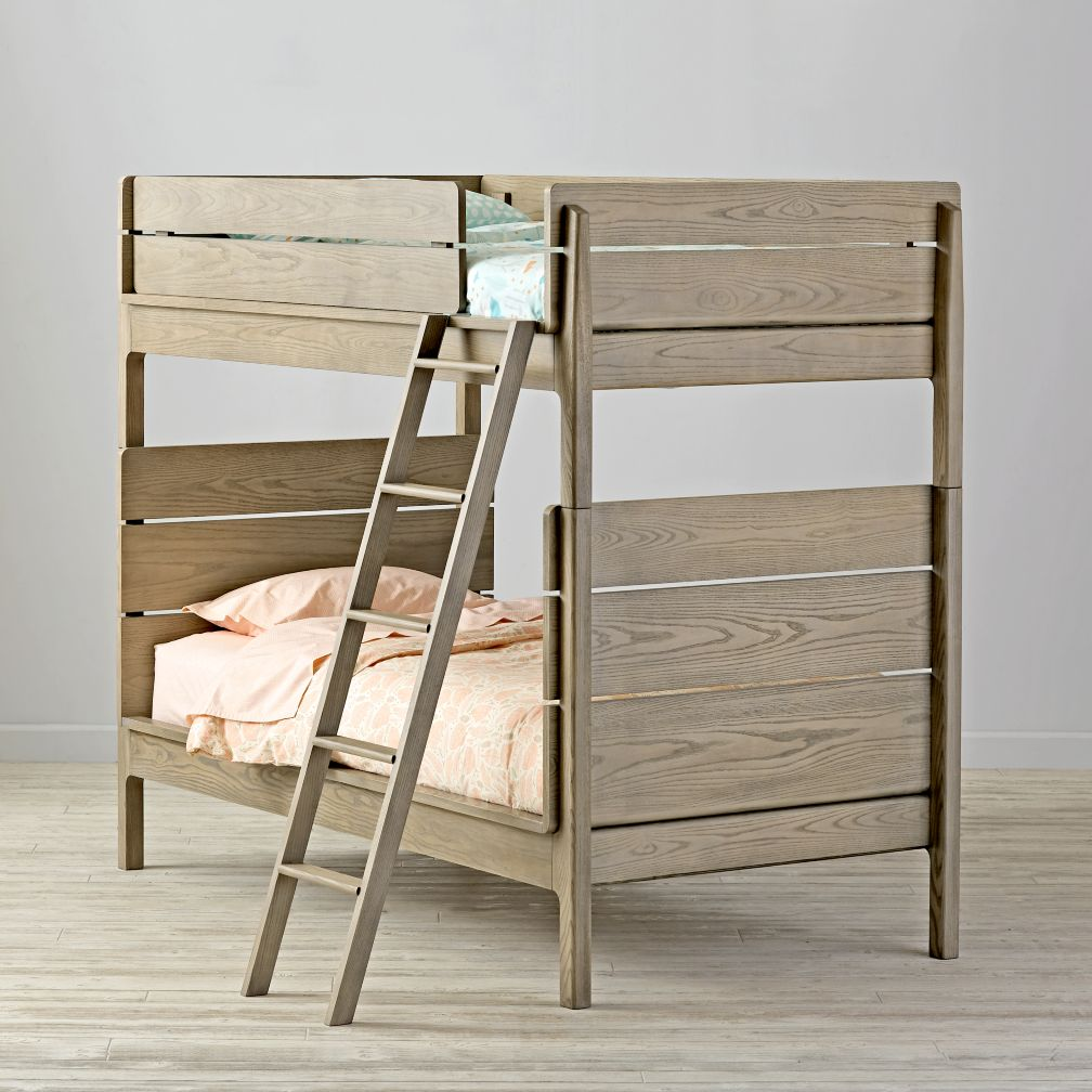 Wrightwood Grey Stain Bunk Bed