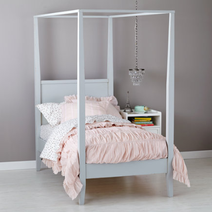 Kids Beds Girls Royal Canopy Bed - Twin Royal Canopy Bed & BEDS - KIDS ROOM DECOR