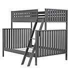 Charcoal Cargo Twin Over Full Bunk Bed.
