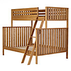 Natural Cargo Twin Over Full Bunk Bed.