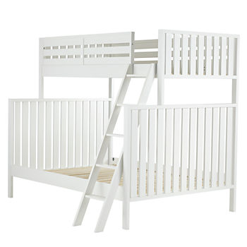 Full Cargo Bed Java The Land Of Nod Wood Bunk Beds | The Land of Nod