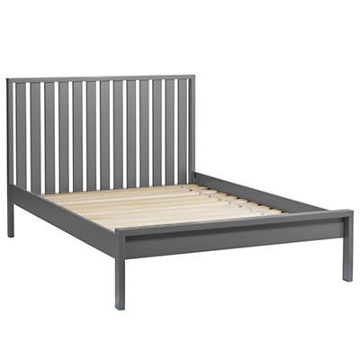 Full Cargo Low Footboard Bed (Charcoal)