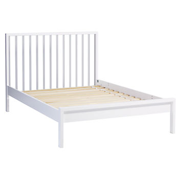 Full Cargo Low Footboard Bed (White)