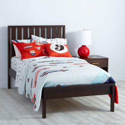 Twin Java Cargo Low Footboard Bed