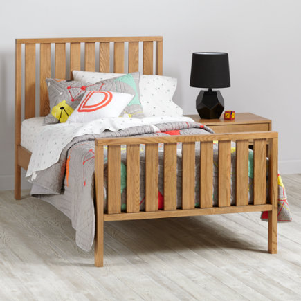 Cargo Kids Twin Bed (Natural) - Twin Natural Cargo Bed