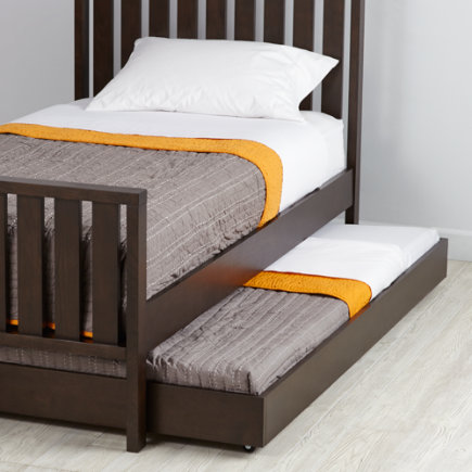 Our Cargo Trundle Bed (Java) features simple lines, giving it a timeless look that can coordinate with nearly any style. Shop for trundle beds today. - Java Cargo Trundle Bed