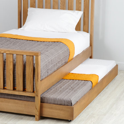 Cargo Trundle Bed (Natural) - Natural Cargo Trundle Bed