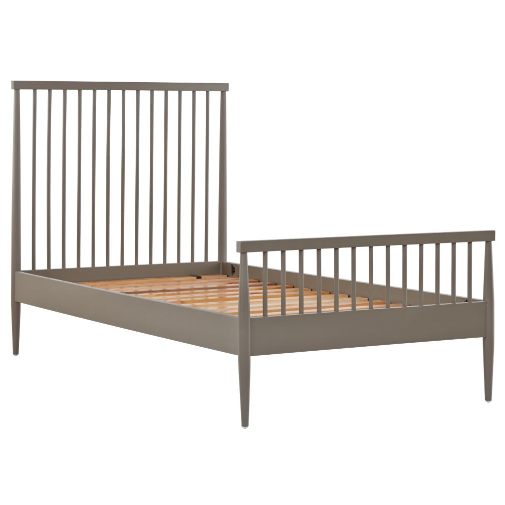 Twin Hampshire Spindle Bed Clay