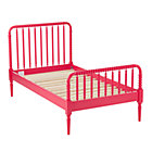 Twin Jenny Lind Raspberry Bed