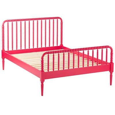 Jenny Lind Queen Bed (Raspberry)