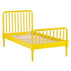 Twin Yellow Jenny Lind Bed