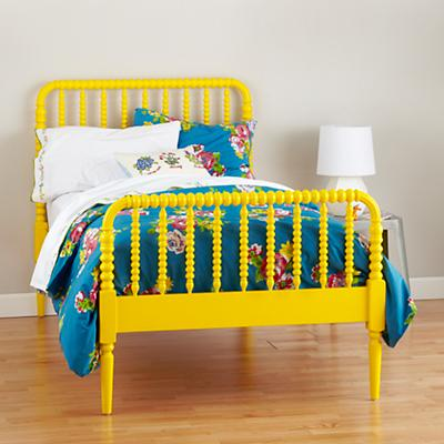 Jenny Lind Bed (Yellow)