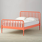 Full Jenny Lind Coral Bed