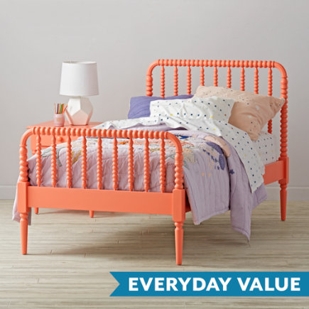 Coral Jenny Lind Kids Bed - Twin Jenny Lind Coral Bed