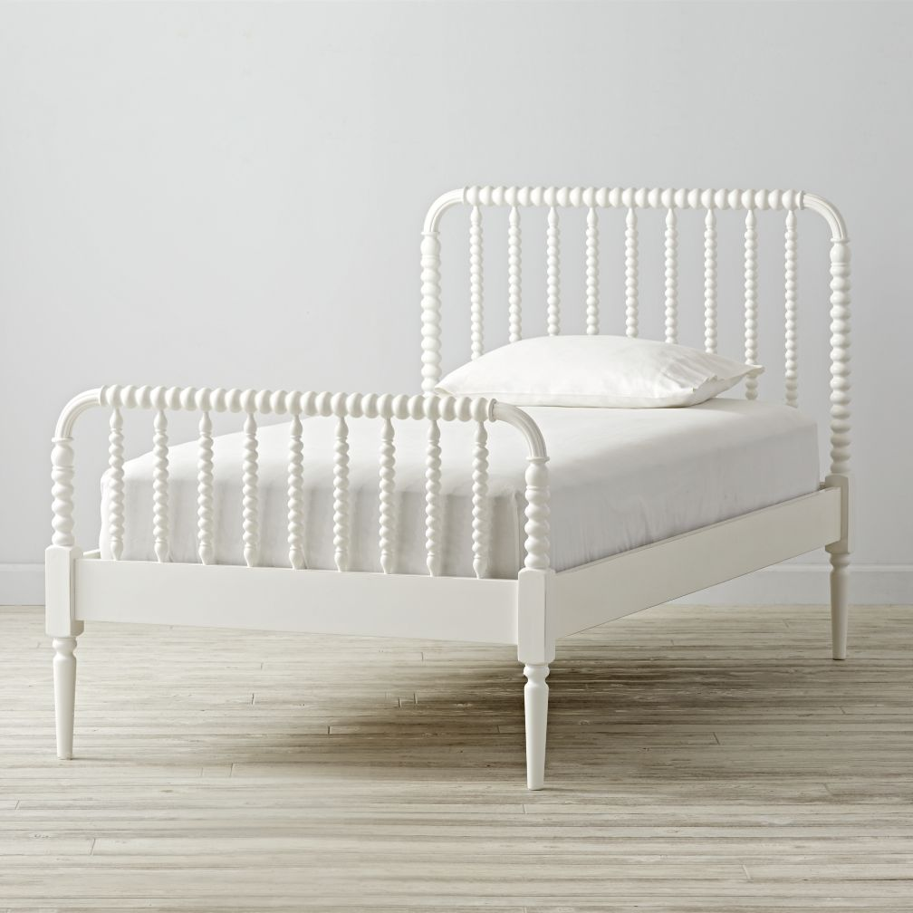 Twin Jenny Lind White Bed The Land Of Nod