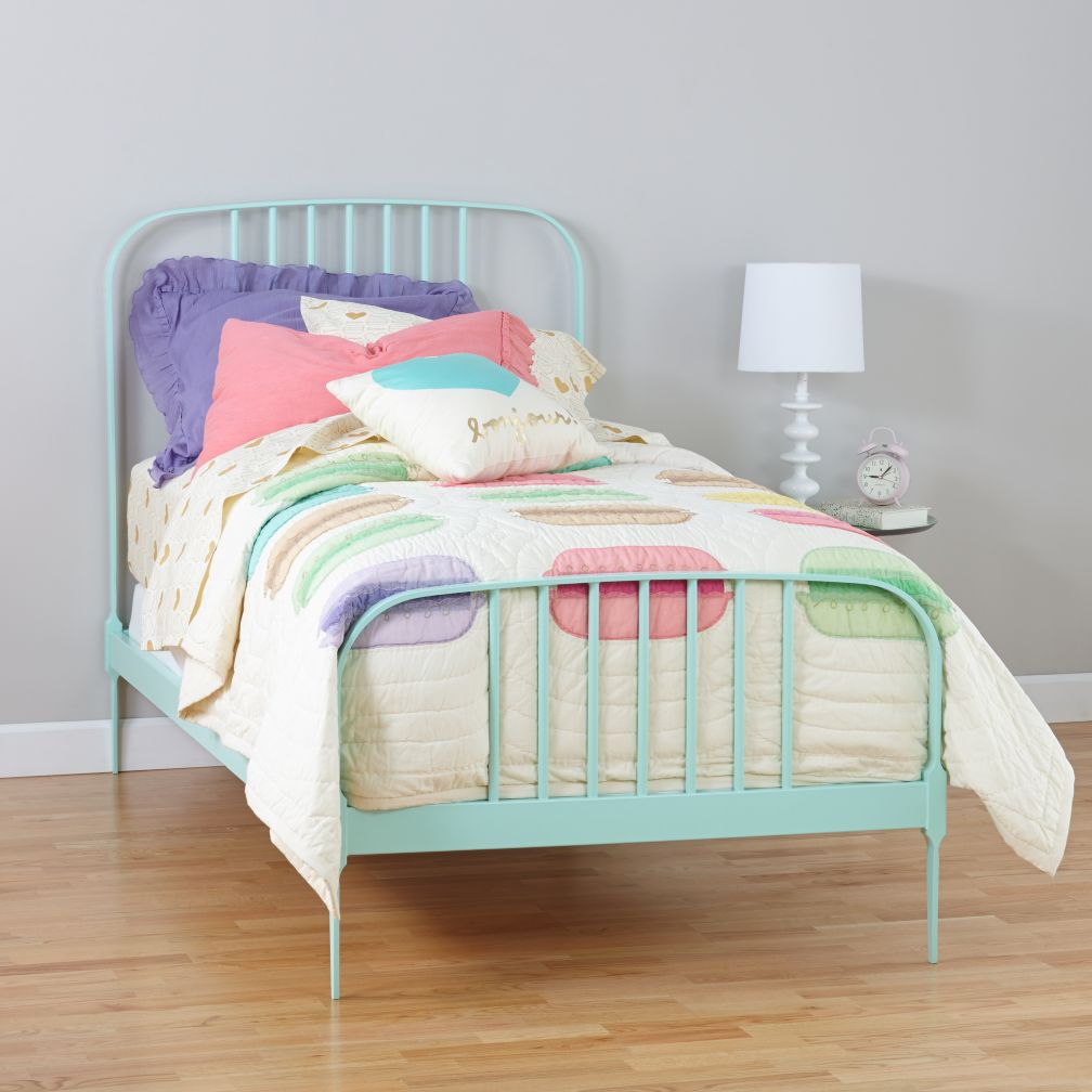 Larkin Metal Bed (Mint)