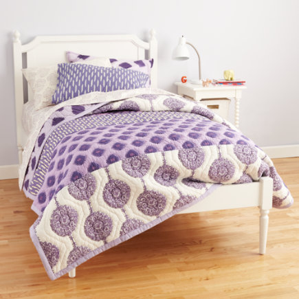 The Land of Nod Twin White Bed