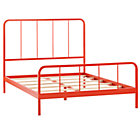 Full Red-Orange Primary Bed