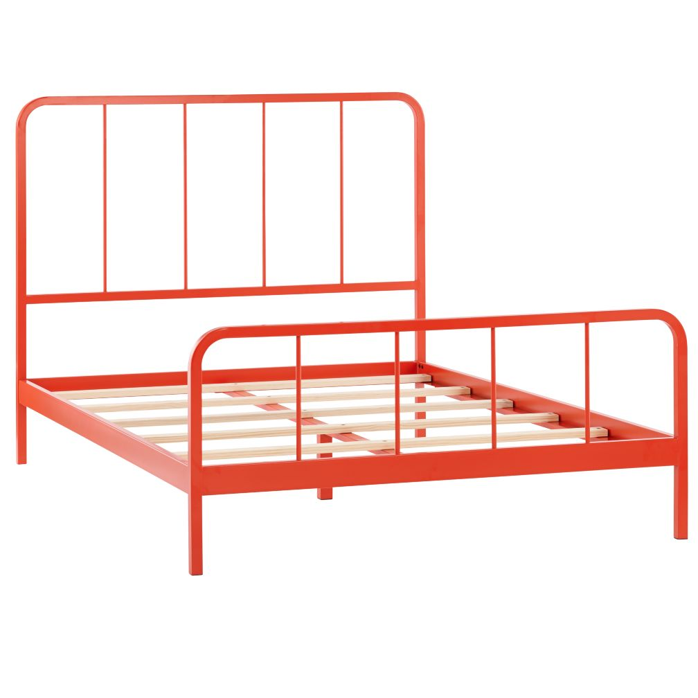 Full Primary Bed (Red-Orange)