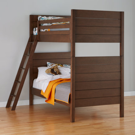Uptown Bunk Bed (Brown) - Brown Uptown Bunk Bed