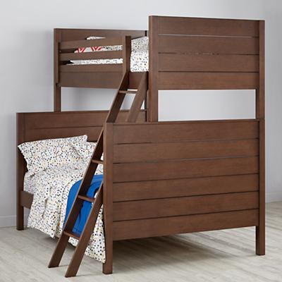 Uptown Twin-Over-Full Bunk (Brown)
