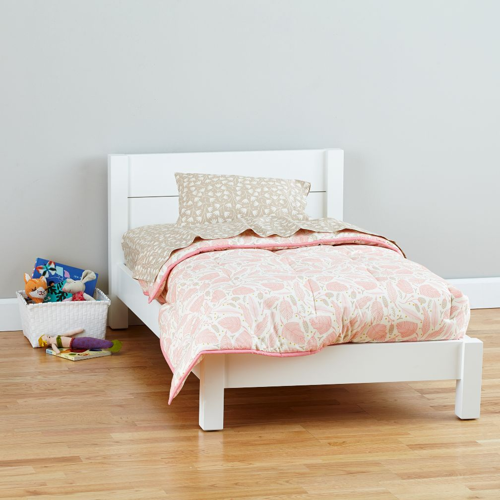 Uptown Toddler Bed (White)