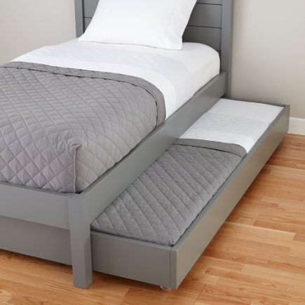 Grey Uptown Trundle Bed