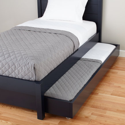 Midnight Blue Uptown Trundle Bed