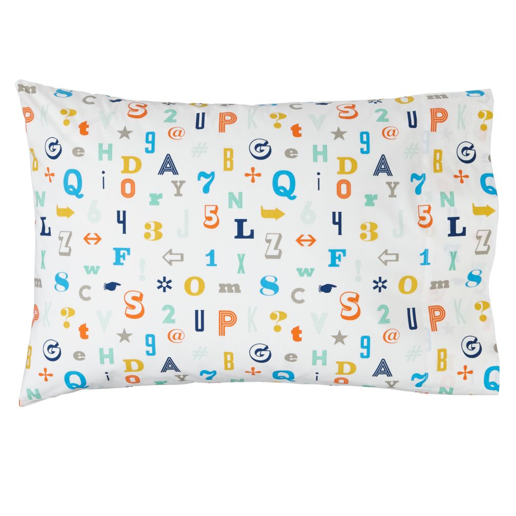 Alphanumeric Pillowcase