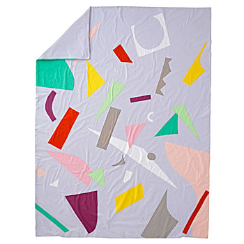 Twin Art Collage Duvet Cover