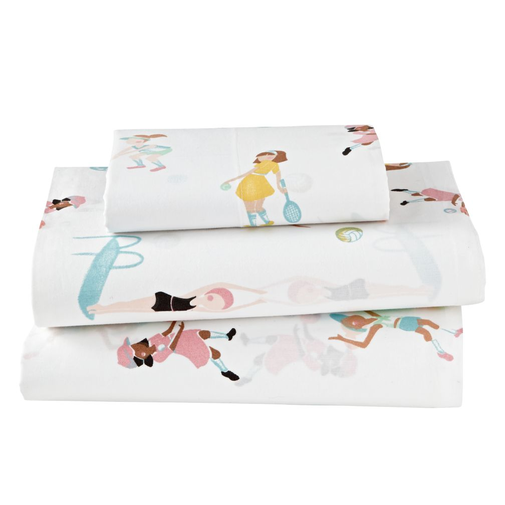 Twin Athletic Club Sheet Set