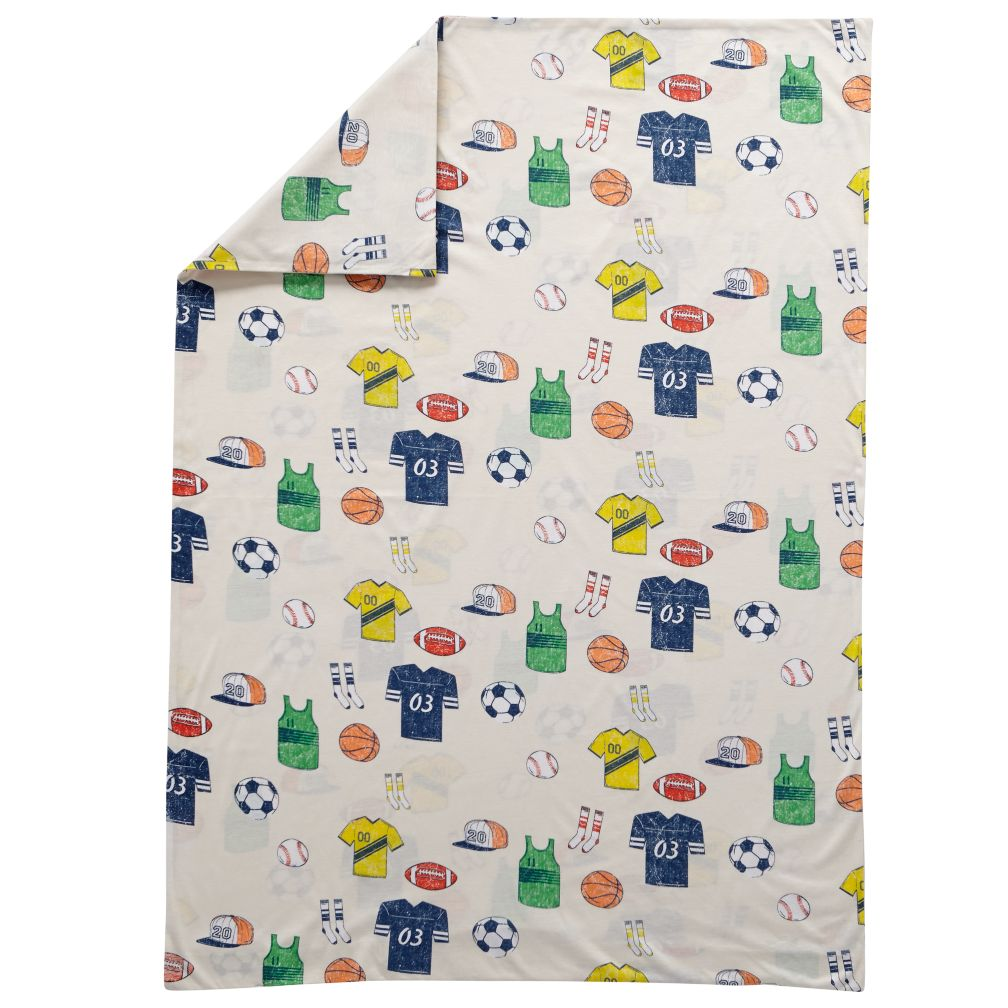 Big League Toddler Duvet Cover