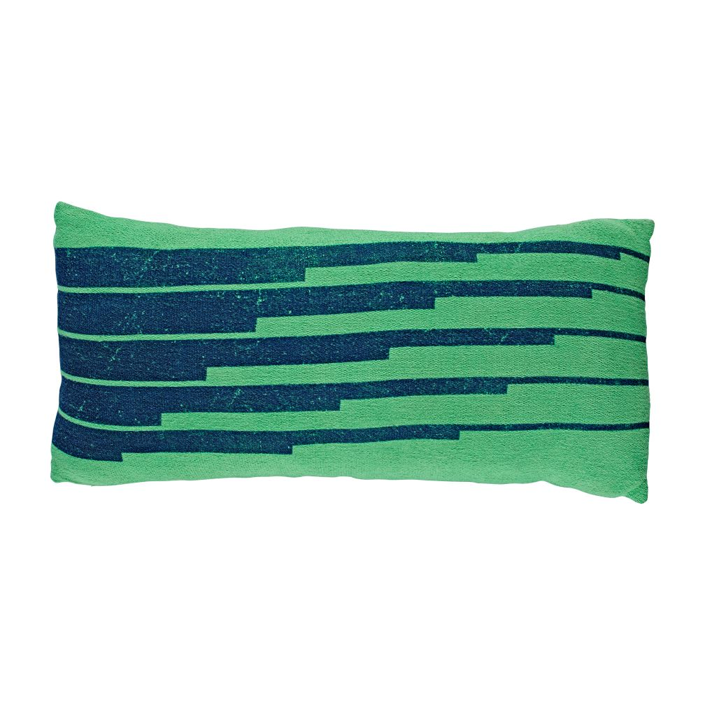Big League Green Printed Pillow