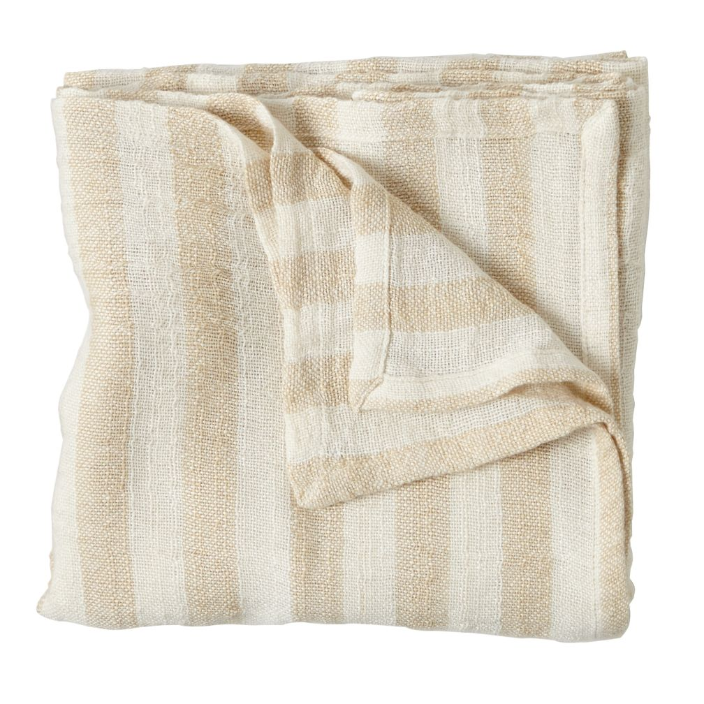 Striped Blanket (Khaki)