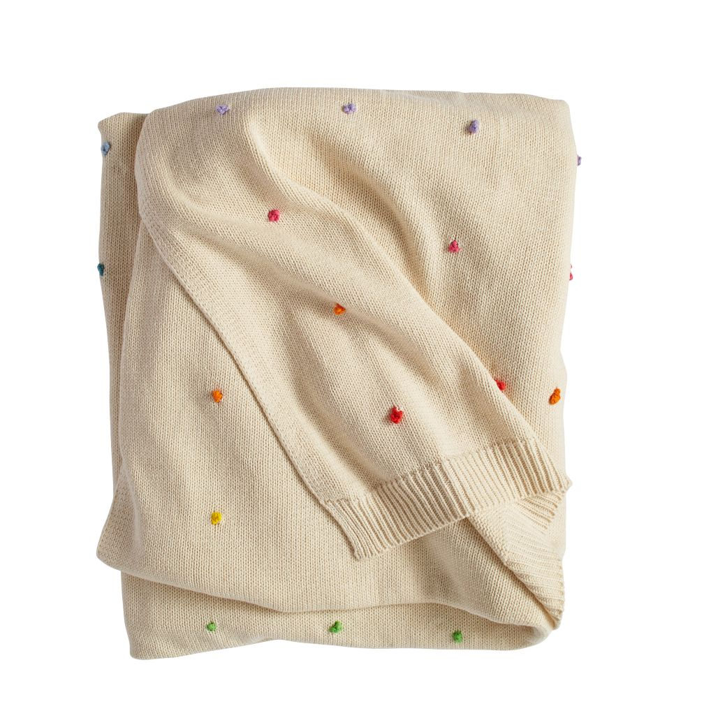 Candy Dot Baby Blanket The Land Of Nod