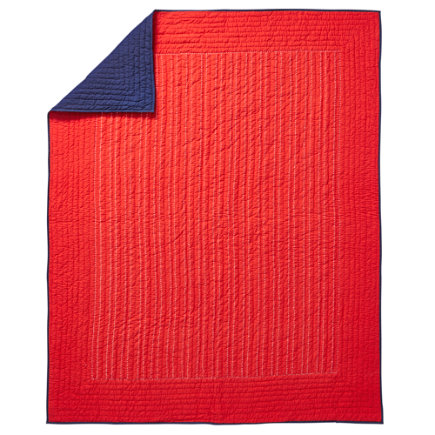 Stitched Moving Blanket (Red) - Twin Red Stitched Moving Blanket