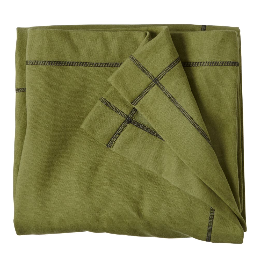 Standard Issue Green Sweatshirt Blanket
