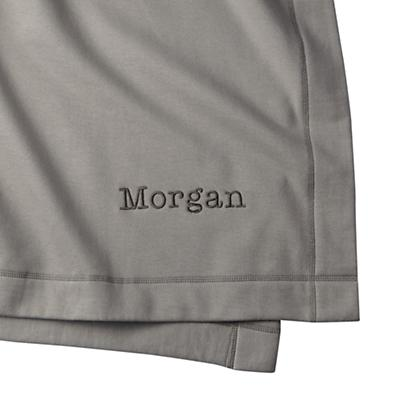 Personalized Standard Issue Grey Sweatshirt Blanket