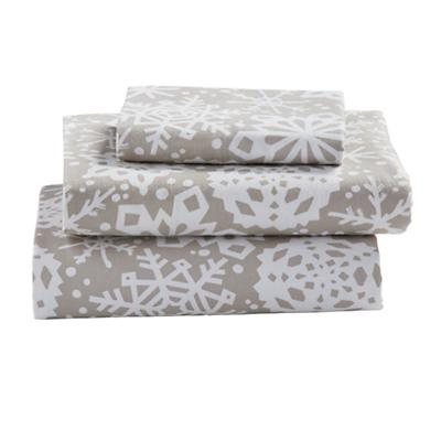 Twin Blizzard Flannel Sheet Set