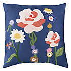 Blue Bouquet Euro Sham
