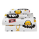 Full Breakdance Sheet SetIncludes fitted sheet, flat sheet and two pillowcases