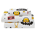 Twin Breakdance Sheet SetIncludes fitted sheet, flat sheet and one pillowcase