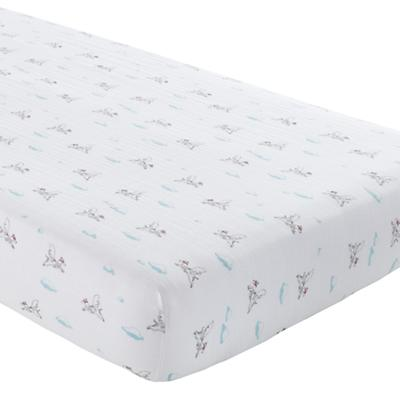 Blue Dog  Crib Fitted Sheet