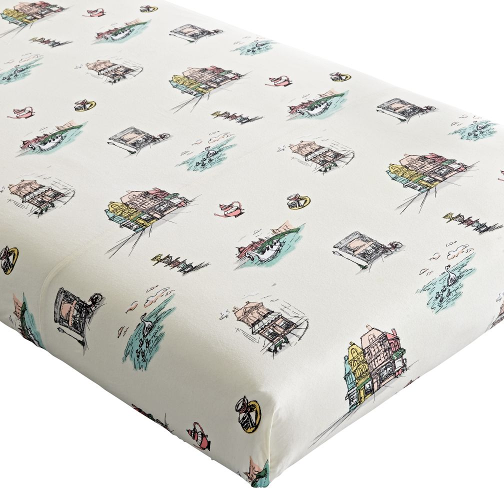 Afternoon Tea Crib Fitted Sheet